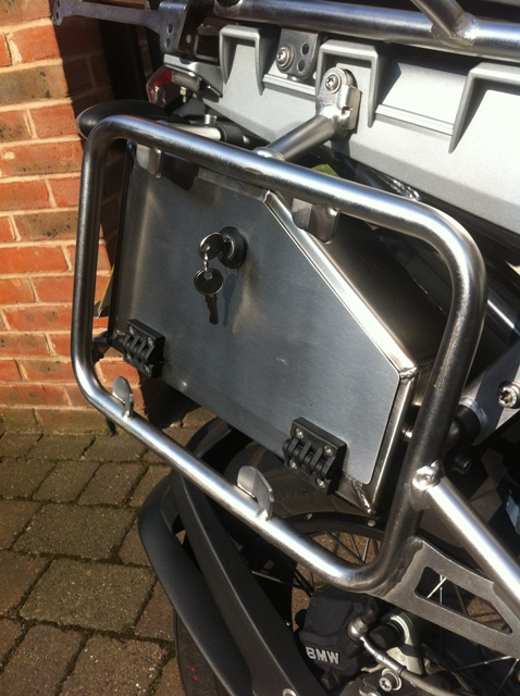 BMW R1200GSA Pannier Fitted Toolbox